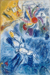 Marc Chagall - The Creation of Man (1958)